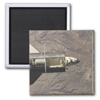 Space Shuttle Discovery 4 Square Magnet