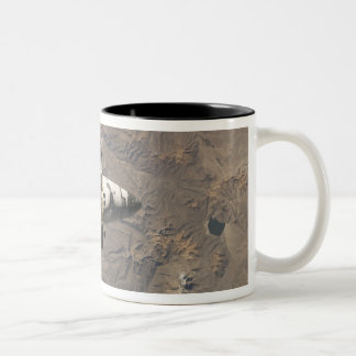 Space Shuttle Discovery 4 Two-Tone Coffee Mug
