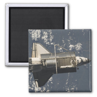 Space Shuttle Discovery 5 Square Magnet