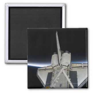 Space Shuttle Discovery 6 Square Magnet