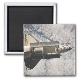 Space Shuttle Discovery 7 Square Magnet
