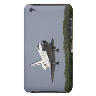 Space Shuttle Discovery approaches landing 2 Barely There iPod Covers
