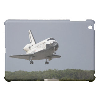 Space Shuttle Discovery approaches landing 2 iPad Mini Case