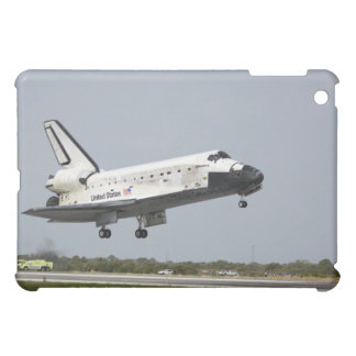 Space Shuttle Discovery approaches landing 3 iPad Mini Case