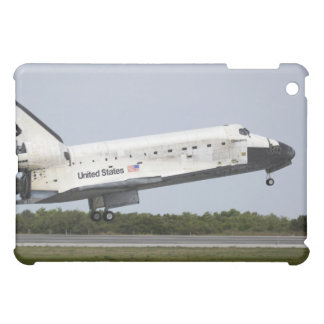 Space Shuttle Discovery approaches landing 4 iPad Mini Cover