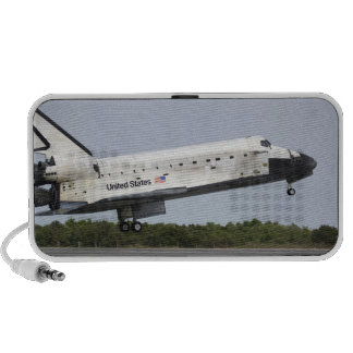 Space Shuttle Discovery approaches landing 4 Mp3 Speaker