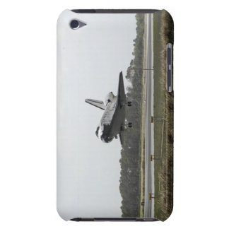 Space Shuttle Discovery approaches landing Barely There iPod Cases