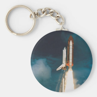 Space Shuttle Discovery Blast Off Key Ring