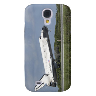 Space shuttle Discovery lands on Runway 33 Galaxy S4 Case