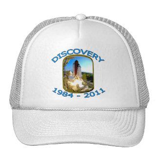 Space Shuttle Discovery Launch Mesh Hats