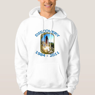 Space Shuttle Discovery Launch Hoodie