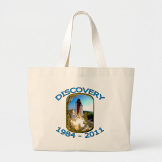 Space Shuttle Discovery Launch Jumbo Tote Bag