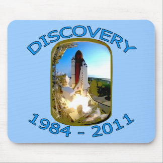 Space Shuttle Discovery Launch Mousepad
