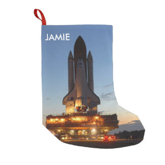 Space Shuttle Discovery Launch NASA Small Christmas Stocking