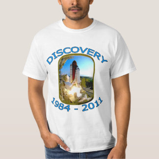 Space Shuttle Discovery Launch T-Shirt
