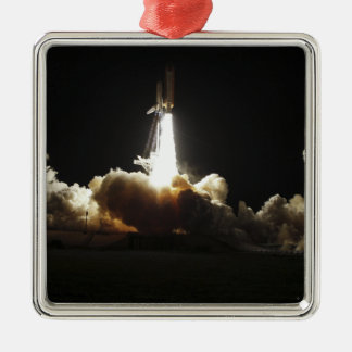 Space shuttle Discovery lifts off Christmas Ornament