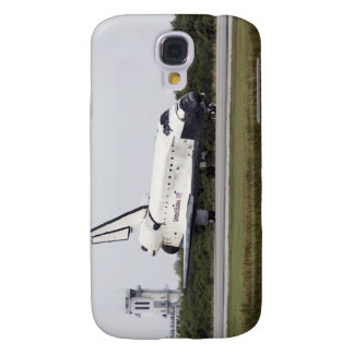 Space Shuttle Discovery on the runway Galaxy S4 Case