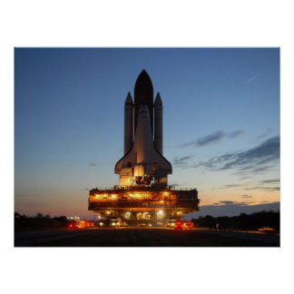 Space shuttle Discovery Poster