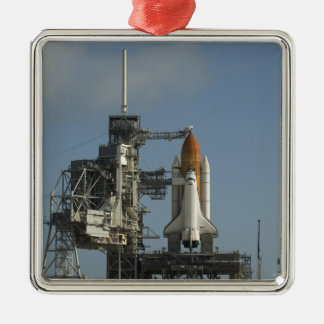 Space Shuttle Discovery sits ready 2 Christmas Ornament