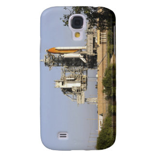 Space Shuttle Discovery sits ready 3 Galaxy S4 Case