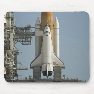 Space Shuttle Discovery sits ready Mouse Mat