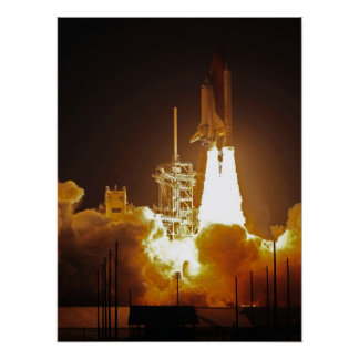 Space Shuttle Discovery (STS-119) Poster