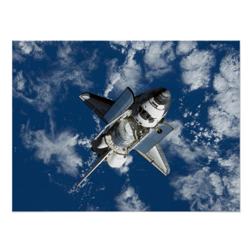 Space Shuttle Discovery (STS-120) Posters
