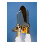 Space Shuttle Discovery (STS-121) Poster