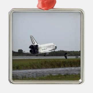 Space Shuttle Discovery touches down 3 Christmas Ornament