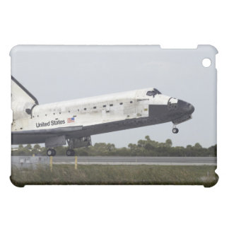 Space Shuttle Discovery touches down Cover For The iPad Mini