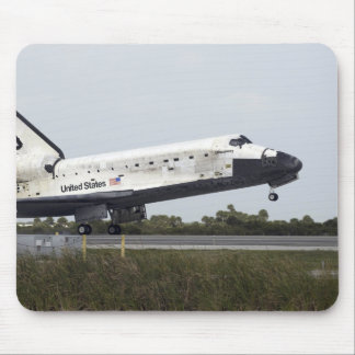 Space Shuttle Discovery touches down Mouse Mat