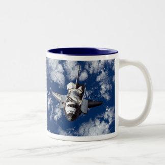Space Shuttle Discovery Two-Tone Coffee Mug
