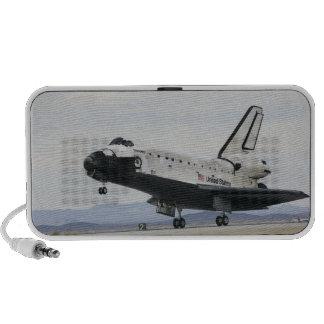 Space Shuttle Discovery's main landing gear Notebook Speaker