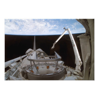 Space Shuttle Discovery's payload bay 2 Photo Print