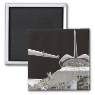 Space Shuttle Discovery's payload bay Fridge Magnet