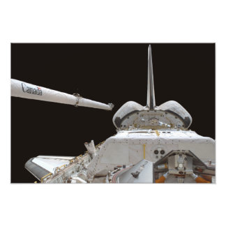 Space Shuttle Discovery's payload bay Photo Print