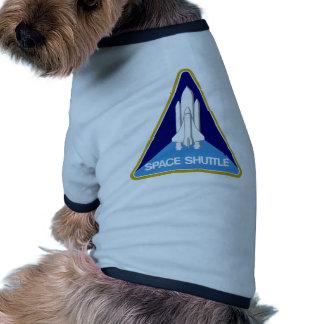 SPACE SHUTTLE DOG TSHIRT