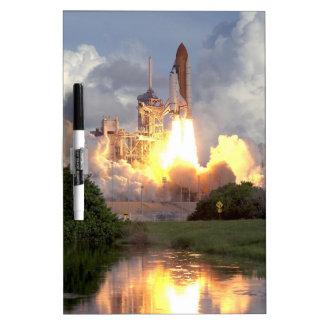 Space shuttle dry erase board
