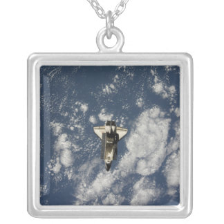 Space Shuttle Endeavour 10 Silver Plated Necklace