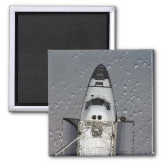 Space Shuttle Endeavour 14 Square Magnet