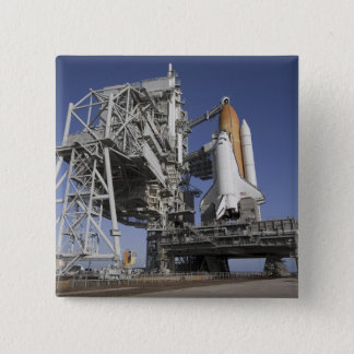 Space shuttle Endeavour 15 Cm Square Badge
