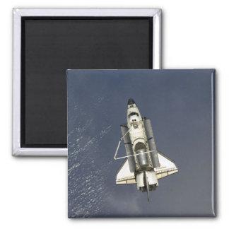 Space Shuttle Endeavour 15 Square Magnet