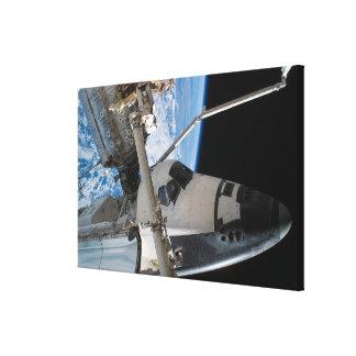 Space Shuttle Endeavour 23 Canvas Print