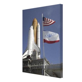 Space Shuttle Endeavour 2 Canvas Print