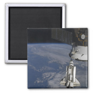Space shuttle Endeavour 2 Square Magnet