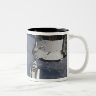 Space shuttle Endeavour 2 Two-Tone Coffee Mug