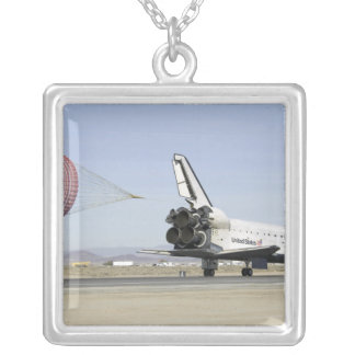 Space Shuttle Endeavour 4 Silver Plated Necklace