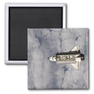 Space Shuttle Endeavour 6 Square Magnet