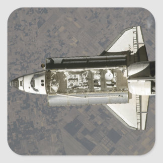 Space Shuttle Endeavour 7 Square Sticker