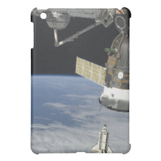 Space shuttle Endeavour, a Soyuz spacecraft iPad Mini Covers